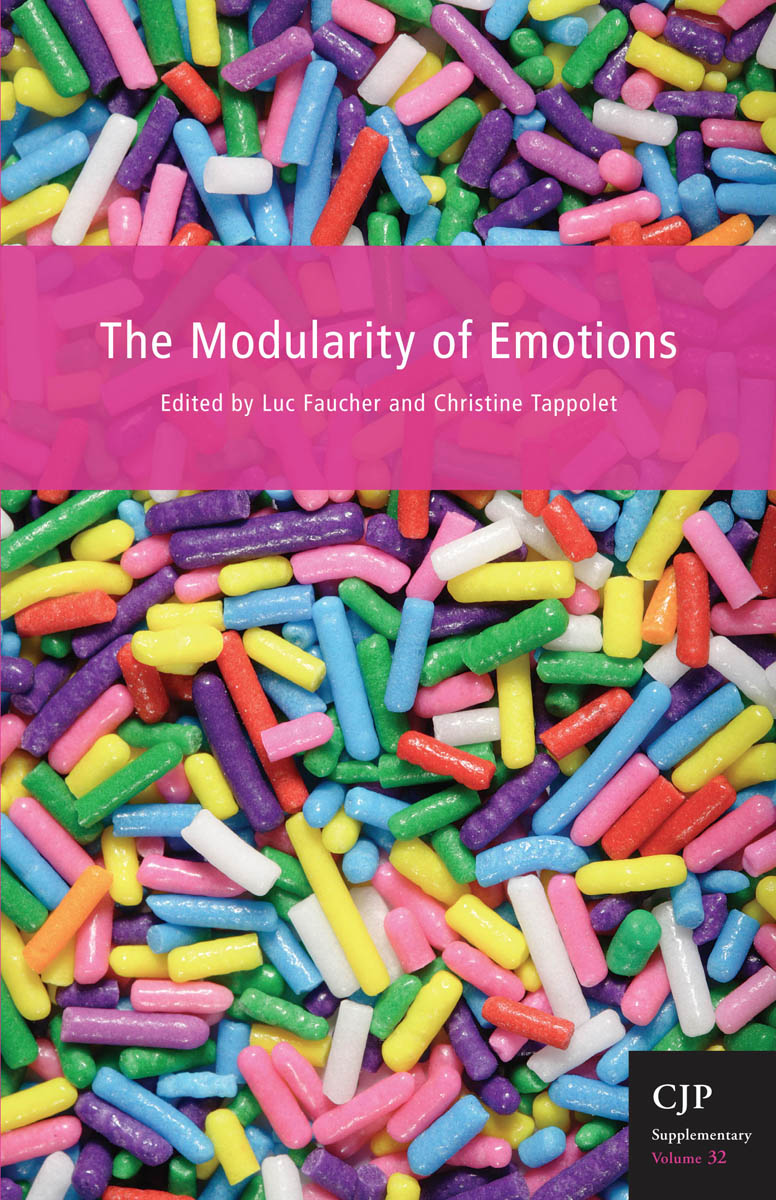 Book cover image for: Modularity of Emotions