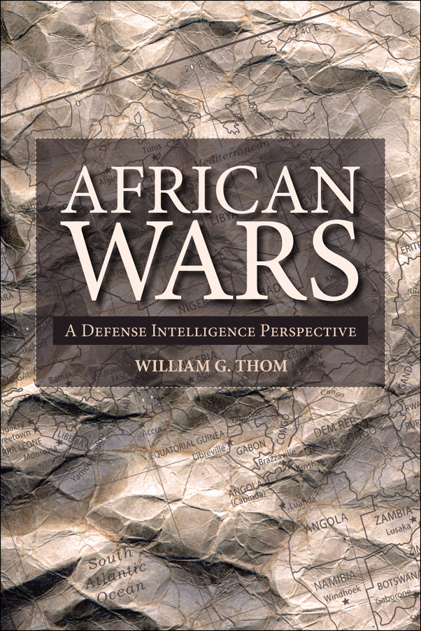 Book cover image for: African Wars: A Defense Intelligence Perspective