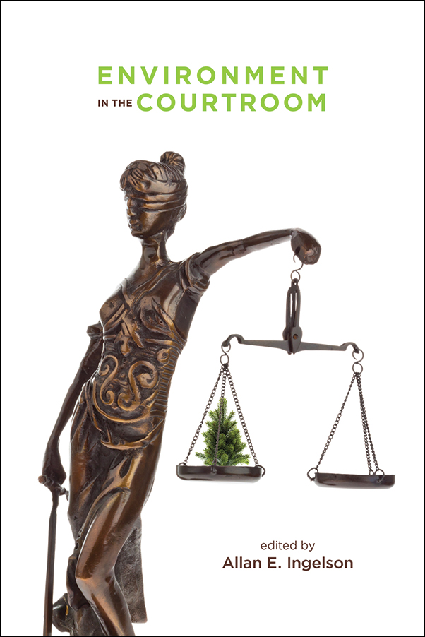 Book cover image for: Environment in the Courtroom