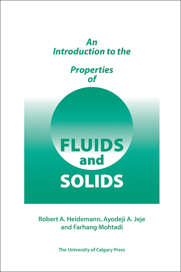 Book cover image for: An Introduction to the Properties of Fluids and Solids