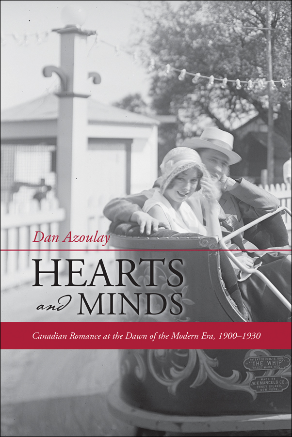 Book cover image for: Hearts and Minds: Canadian Romance at the Dawn of the Modern Era, 1900-1930