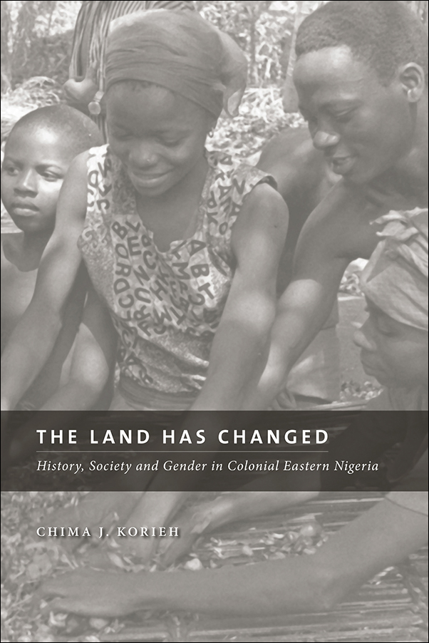 Book Cover Image for: Land Has Changed