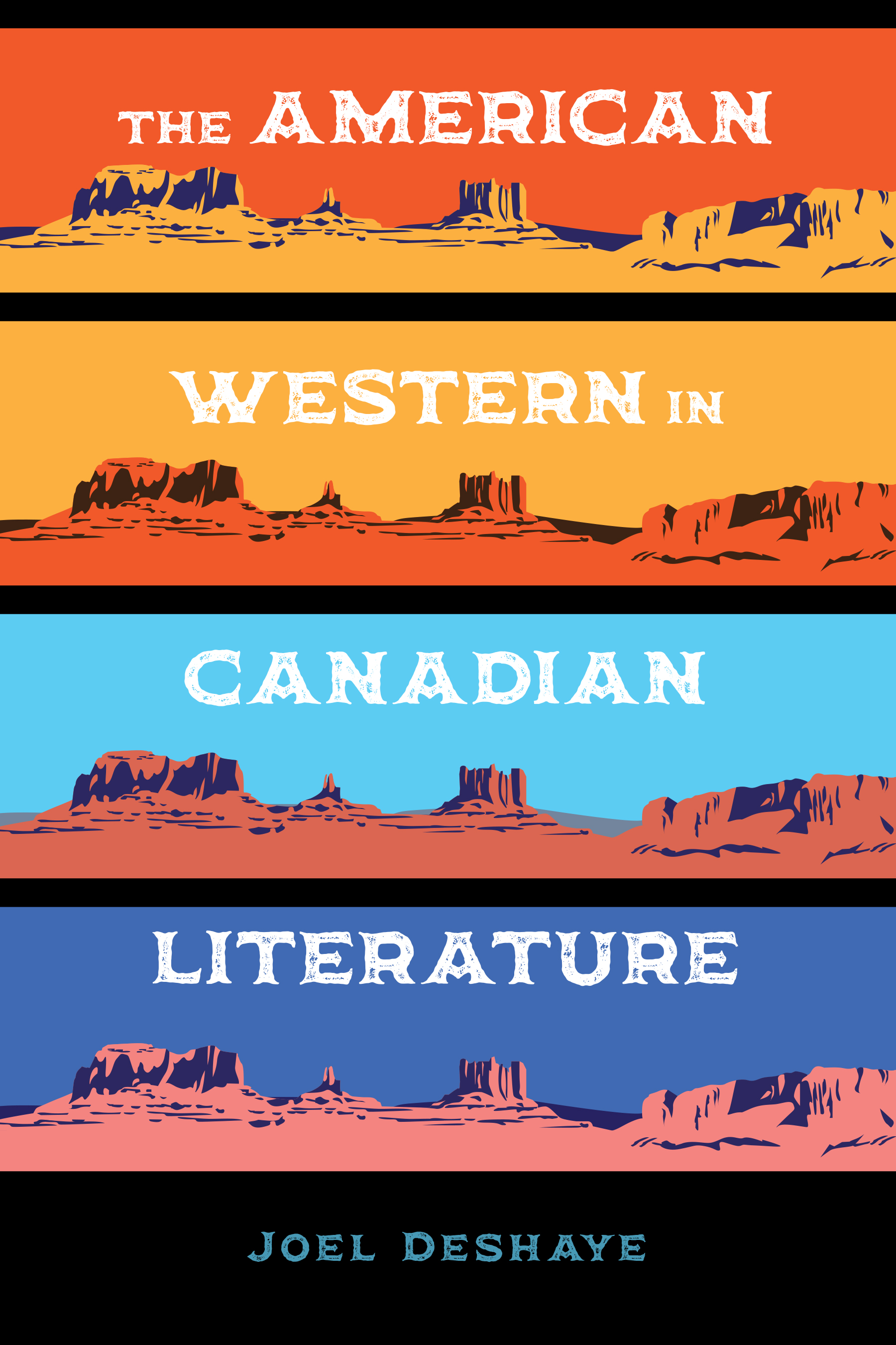 Book cover image for: American Western in Canadian Literature